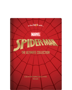 personalised spiderman book