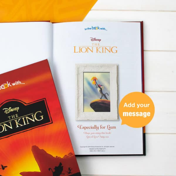 Personalised Lion King Collection Book