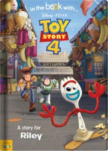 Personalised Toy Story 4 Book