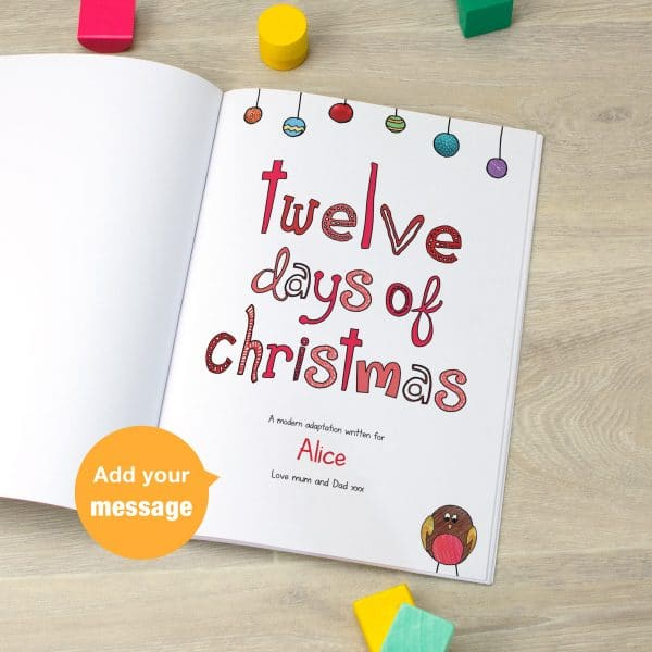 12 Days of Christmas little Favourites book