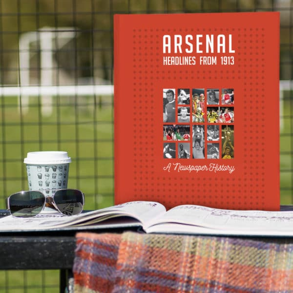arensal Football Photo Book