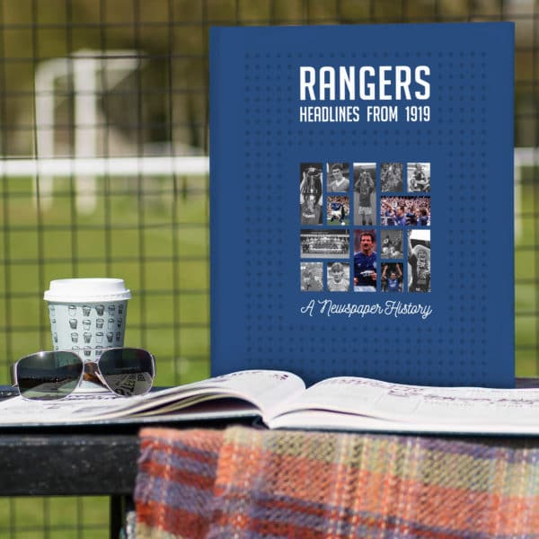 Rangers Football Book