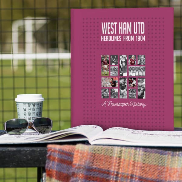 West Ham Football book