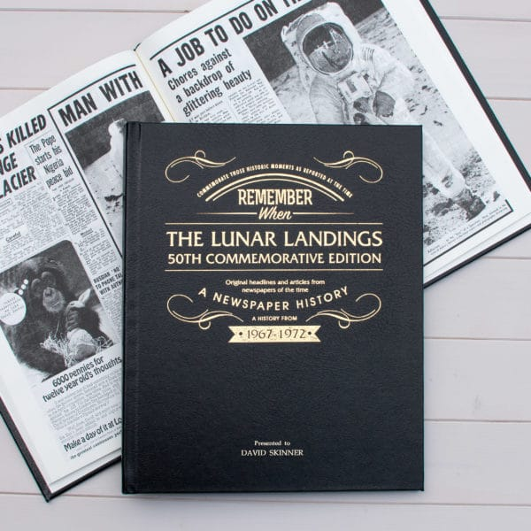 The Lunar Landing Newspaper Book