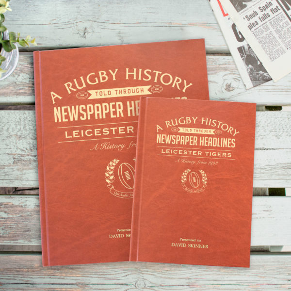 Newspaper Rugby book Leicester