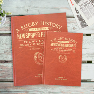 Newspaper Rugby book Six Nations