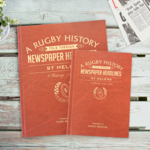 Newspaper Rugby book St Helens