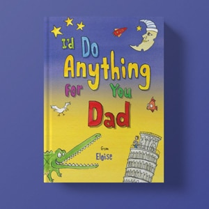 Personalised Father's Day Books