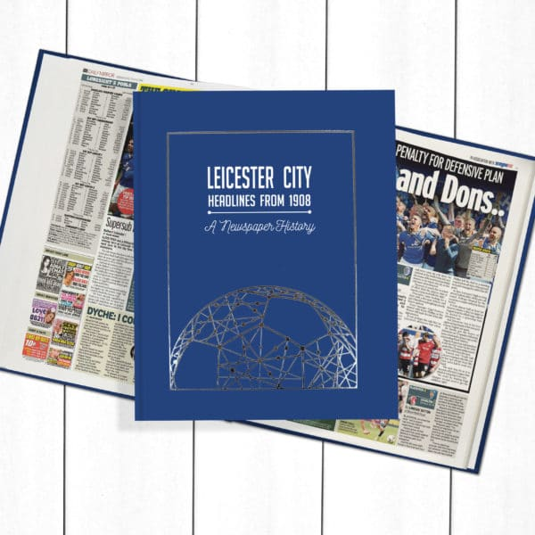 History of football Leicester