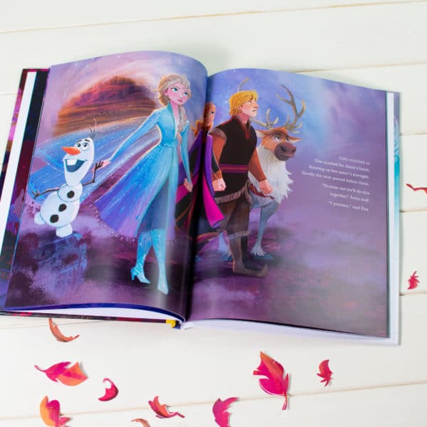 Frozen 2 Personalised book