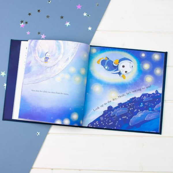 Moon and Me story book