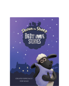 personalised shaun the sheep book