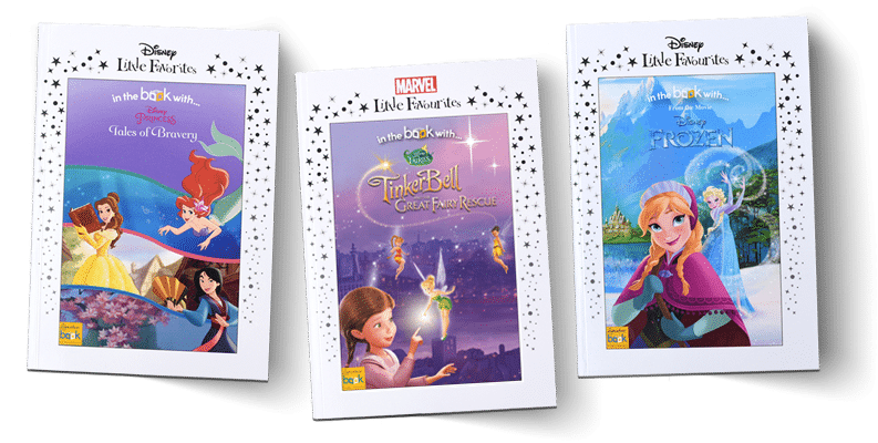 Disney Personalised Favourites books