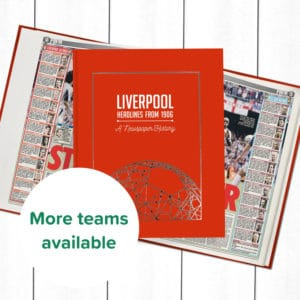 Personalise Later Football Books