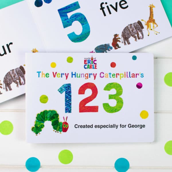 Very Hungry Caterpillar Numbers Book