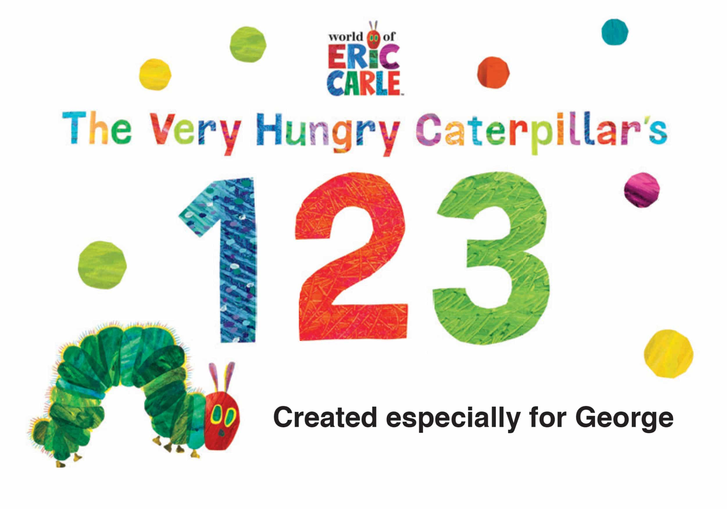 very hungry caterpillar 123