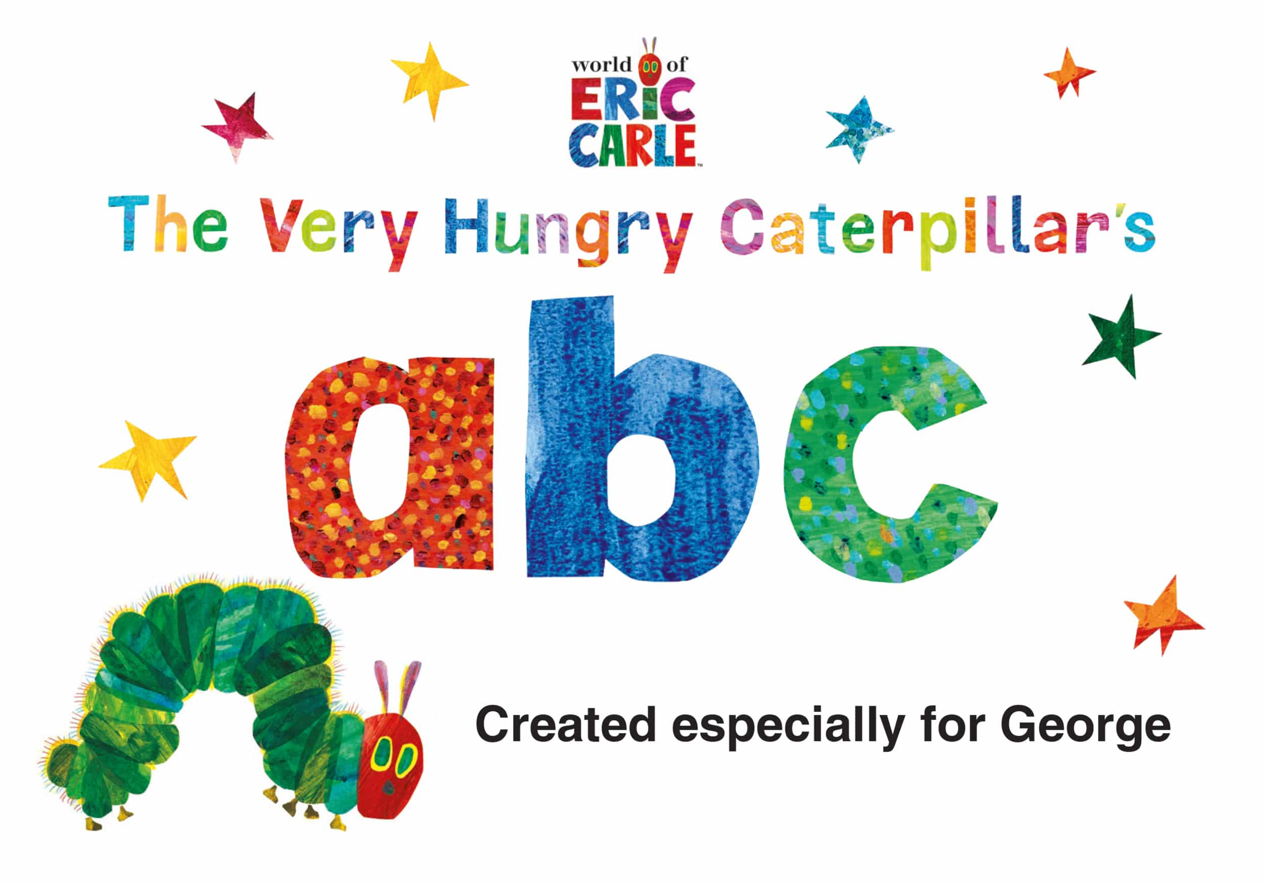 very hungry caterpillar abc book