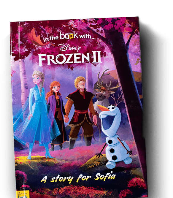 Frozen 2 personalised Disney Book