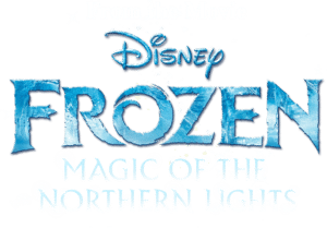 frozen magic of the northern lights logo