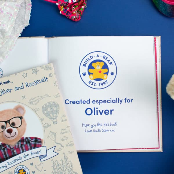 Personalised Build-A-Bear Book