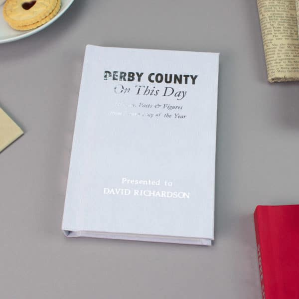 Derby On this Day Football Facts Book