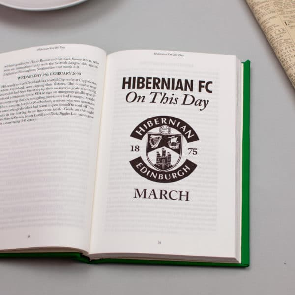 Hibernian On this Day Football Facts Book