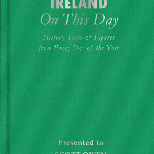 ireland on this day book