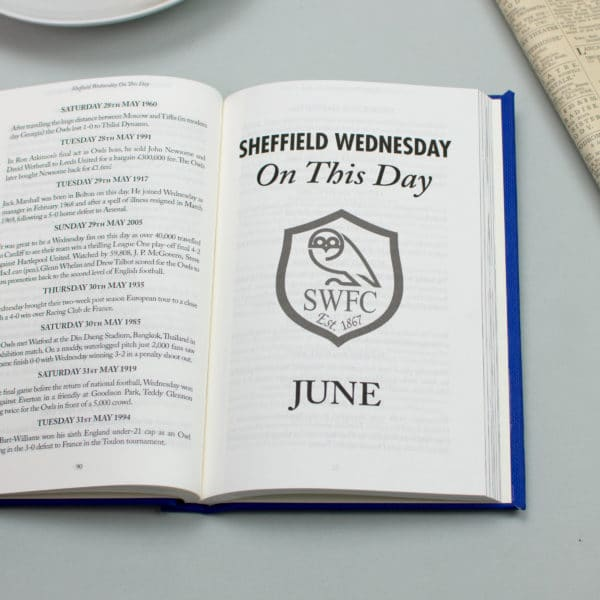 sheffield wednesday on this day book