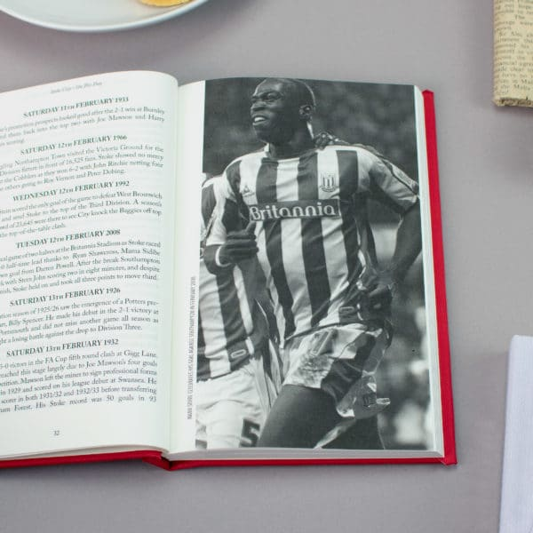 Stoke On this Day Football Facts Book