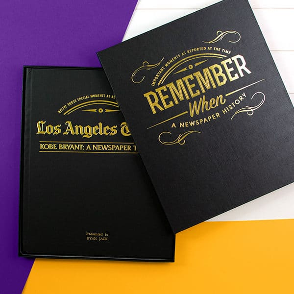 Kobe Bryant Newspaper Books