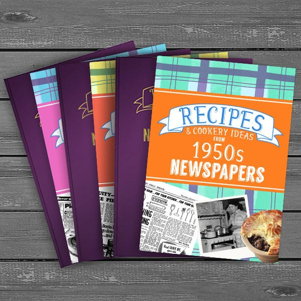 Recipes from history Books