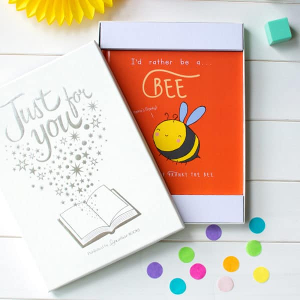 """Personalised """"I'd Rather Be A Bee"""" Book"""