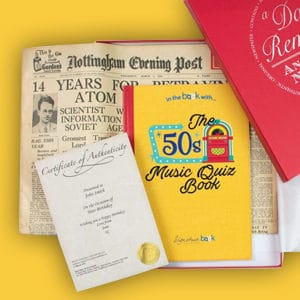 Original Newspaper and Book Gift Sets