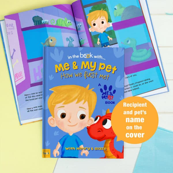 Me and My Pet Dragon Personalised Book