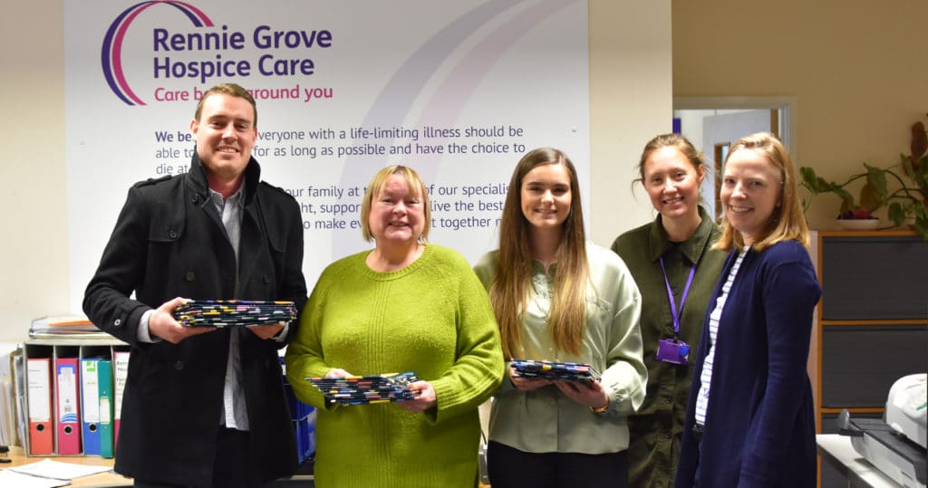 Rennie Grove Hospice Book Donation