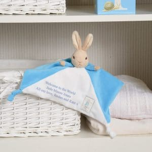 peter rabbit blanket