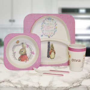 flopsy bunny breakfast set