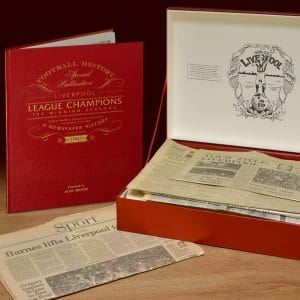 Liverpool League Champions box