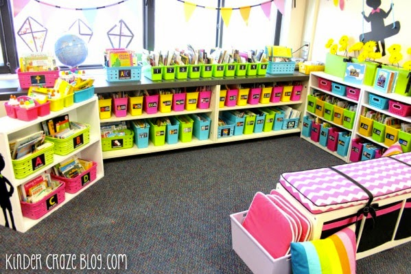 classroom library seating ideas