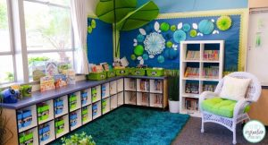 classroom reading space