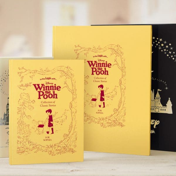 personalised winnie the pooh book collection