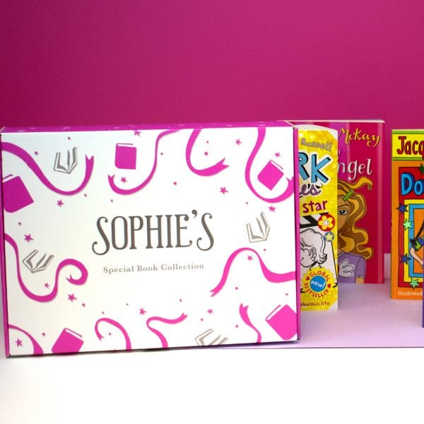 personalised book set for girls