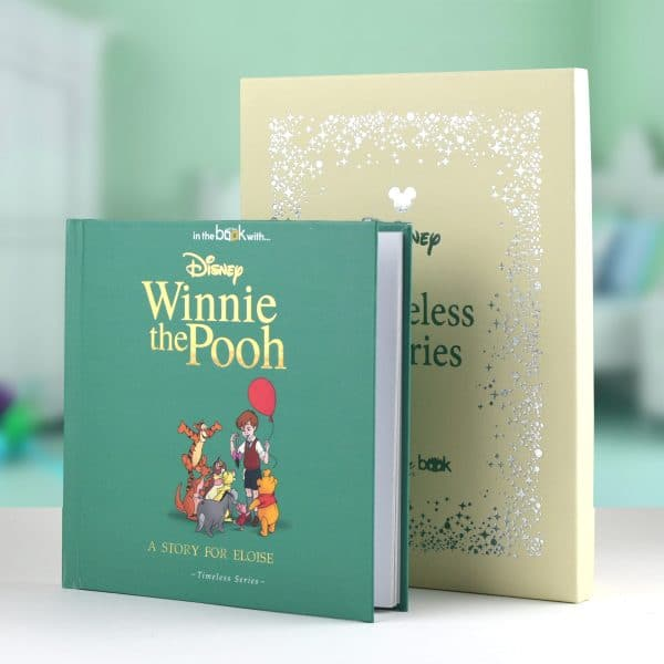 pooh baby shower book