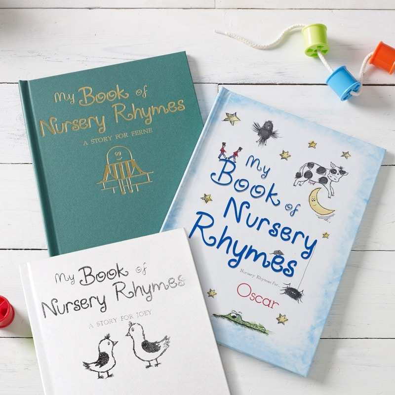 personalised-nursery-rhyme-books-collection