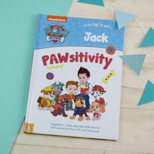 personalised paw patrol book