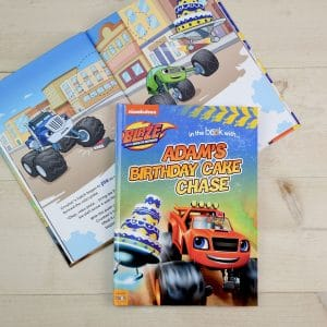 blaze and the monster machines story book