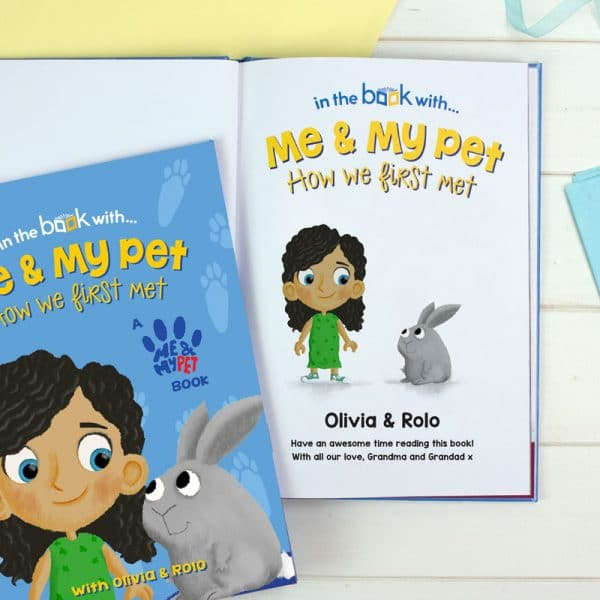 personalised rabbit book