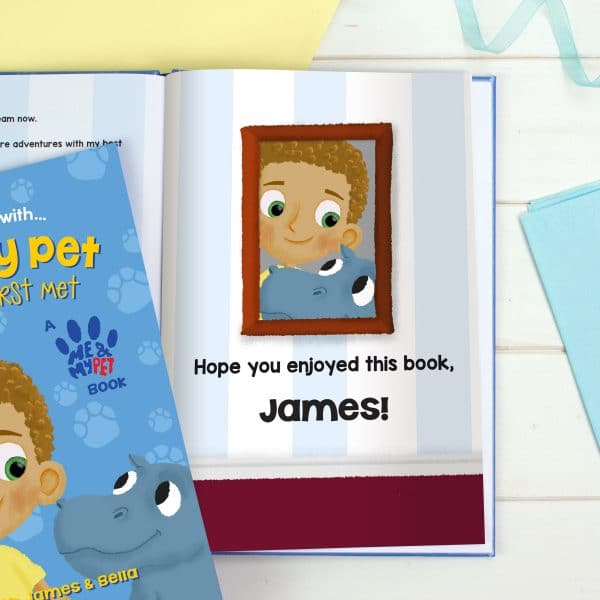 hippo story book
