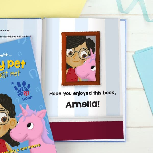 Personalised Me and My Pet Unicorn Book