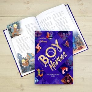personalised Disney Heroes Book